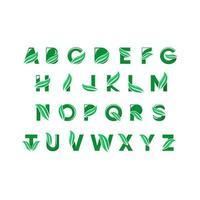Set letter logo vector