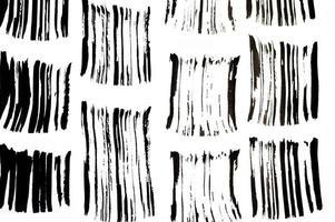 Black abstract brush strokes pattern photo