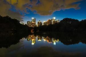 Evening view of downtown Atlanta, Georgia photo