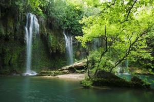 Kursunlu Waterfalls at Antalya Turkey photo