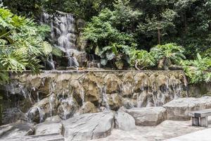 Beautiful waterfall Perdana Botanical Gardens Kuala Lumpur Malaysia. photo