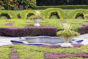 Beautiful Sunken Perdana Botanical Gardens Kuala Lumpur Malaysia. photo