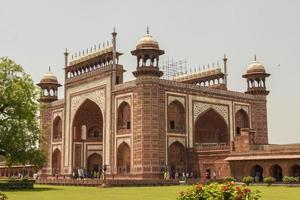 Taj Mahal Kau Ban Mosque in Agra, Uttar Pradesh, India. photo