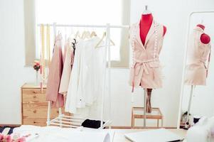 Fashion designer showroom studio workshop photo