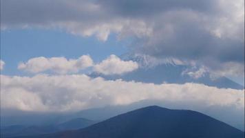 Beautiful nature in Kawaguchiko with Mountain Fuji in Japan video