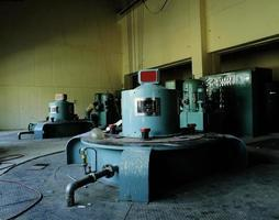 Images from hydroelectric power plant photo