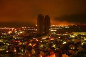 A night view from Ankara photo