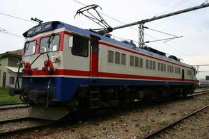 Electric locomotive that works with clean energy photo