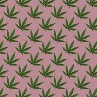 cáñamo o cannabis deja patrones sin fisuras foto