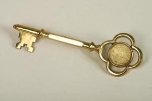 llave simbólica de la ciudad foto