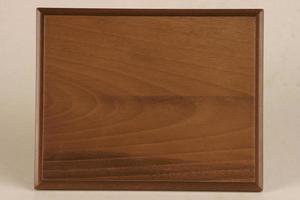 Muestras de placas de madera para campeonatos, logros y recuerdos. foto