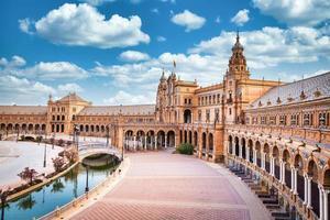 Spain Square in Seville, Spain. photo
