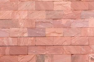 Red brick texture background wallpaper. Building and interior concept photo