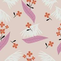 Abstract floral surface pattern seamless background vector