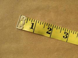 Imperial tape measure photo