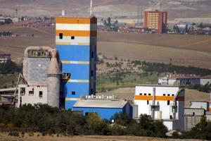 Industrial buildings from Ankara photo