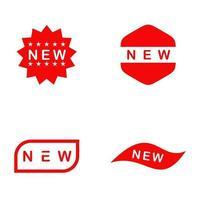 New product label logo design vector