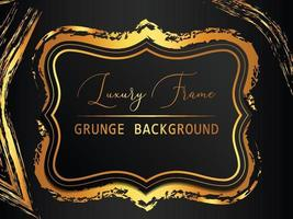 abstract gold grunge background vector