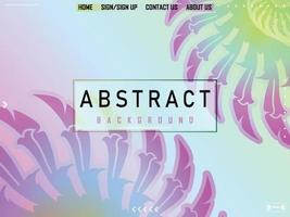 Abstract Spring Color Gradient Background vector