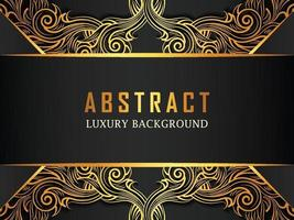 Abstract Luxury Ornamental background vector