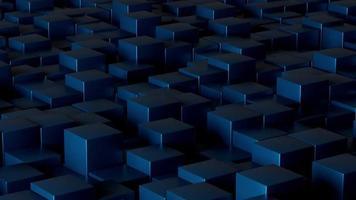 Dark Cubes Background Loop video