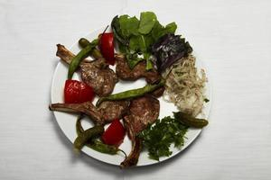 Selection of meat from Turkish cuisine photo