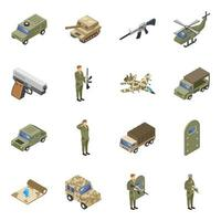 Trendy Military Forces vector
