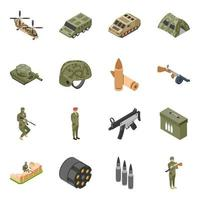 Military Forces Elements vector