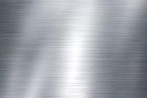 Concepto de reflexión de fondo de textura de acero inoxidable y acero foto