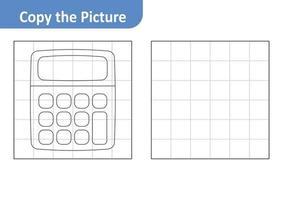 Copy the picture, calculator vector