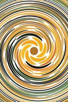 Swirl retro background vector