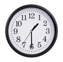 Clock is twenty minutes of the second photo
