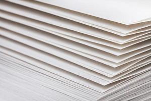 páginas de un libro o cuaderno foto