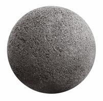 Grey stone ball photo