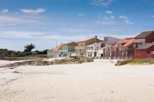 Corrubedo, a small fishing village in the community of Galicia, Spain. photo