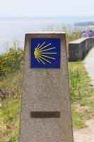 signo del camino de santiago foto