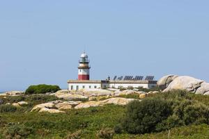 Lighthouse in Galicia, Spain photo