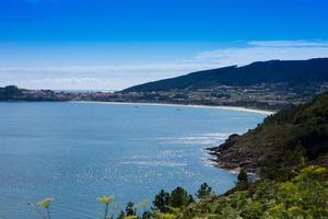 Marine views of the Atlantic ocean, Galicia, Spain photo