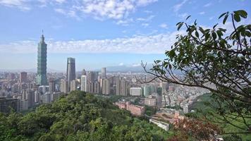 Building of Taipei City in Taiwan video