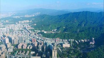 Buildings of Taipei City in Taiwan video