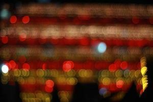 The beautiful orange blurry background. photo