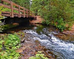 Bridge Over Mill Creek near Prospect OR photo