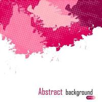 purple abstract paint splashes illustration. Vector background w