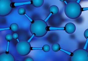 Dna molecule background vector