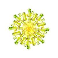 corona virus pandemic vector