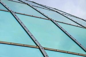 Curved glass dome roof photo