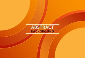 geometric orange abstract background design. vector