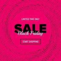 Black Friday Sale Banner. Black Friday sale inscription label. vector
