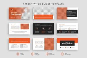 Presentation Slides Template vector