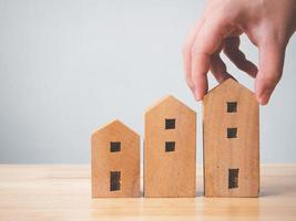 Property investment real estate and house mortgage financial concept photo